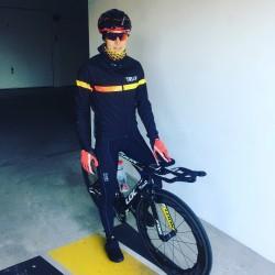 Maillot de vélo mi-saison - Fleur